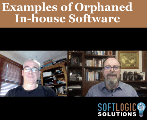 2. Graeme Perrins - Examples of Orphaned In-House Software