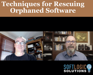 3. Graeme Perrins - Techniques for Rescuing Orphaned Software