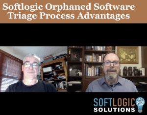 8. Graeme Perrins - Advantages of Softlogic Orphaned Software Traige Process