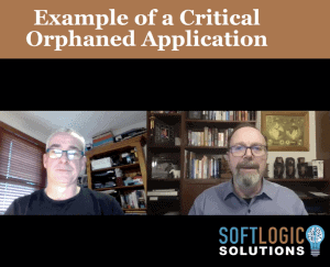 9. Graeme Perrins - Example of a critical orphaned application